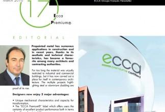 ECCA Groupe Français - Newsletter ECCA Premium