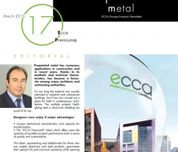 ECCA Premium ® newsletter from ECCA French Group-0