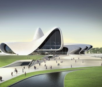 Coil coater: ThyssenKrupp Steel - Architect: Zaha Hadid Architects